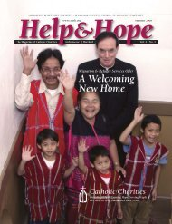 Volume 2, No. 1 - Catholic Charities