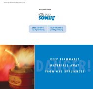 Keep Flammable Materials Away From Gas ... - Atmos Energy
