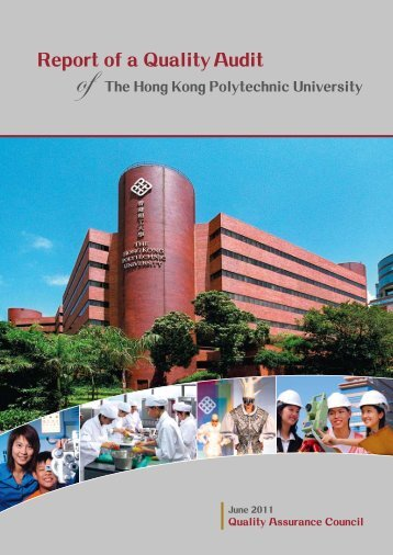 Report of a Quality Audit - University Grants Committee