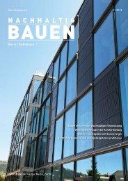 Nachhaltig Bauen Bern|Solothurn 2/2012 - Gerber Media