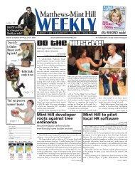 Matthews-Mint Hill - Carolina Weekly Newspapers