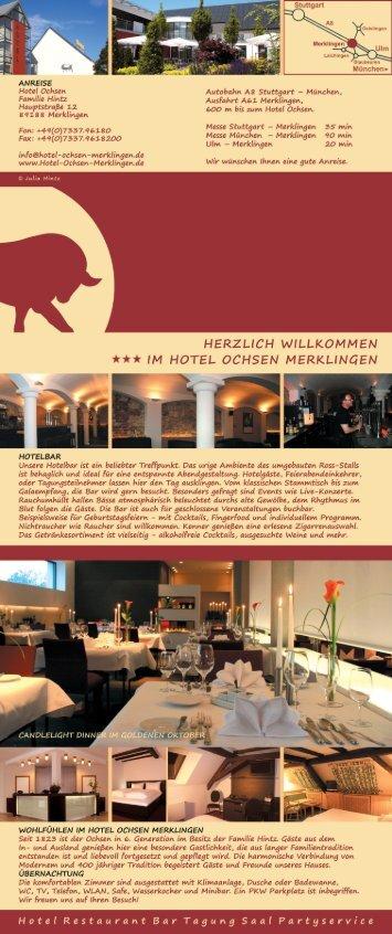 Stuttgart - Hotel zum Ochsen Merklingen