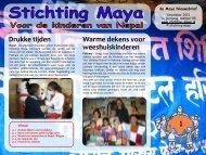Nieuwsbrief december 2011 - Stichting Maya