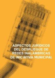 aspectos jurídicos del despliegue de redes inalámbricas de ...