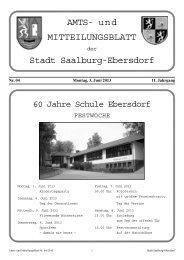 Nr. 04-2013 - Stadt Saalburg-Ebersdorf