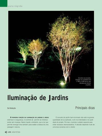Iluminação de Jardins - Lume Arquitetura