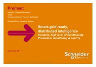 Smart-grid ready, distributed intelligence ... - Schneider Electric