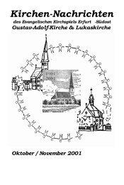 10 / 11 - Evangelische Kirchen in Erfurt