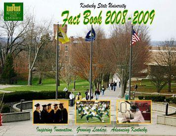 Fact Book 2008-09_use - Kentucky State University