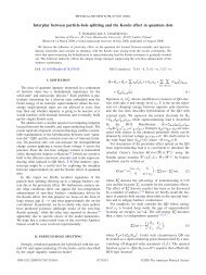 Interplay between particle-hole splitting and the Kondo effect in ...