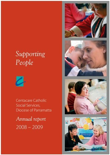 2008 – 2009 - Catholic Diocese of Parramatta