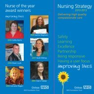 Nursing Strategy 2010-2013 2.7 MB - Oxleas NHS Foundation Trust