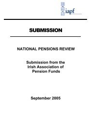 here - Irish Association of Pension Funds