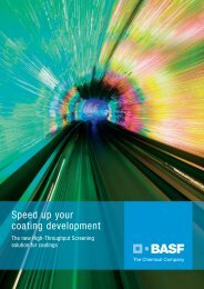 Speed up your coating development