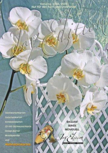Katalog Fachhandel - Joy Edition