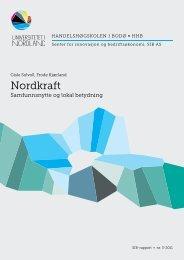 Kraftproduksjon - Nordkraft
