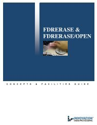 FDRERASE & FDRERASE/OPEN - Innovation Data Processing