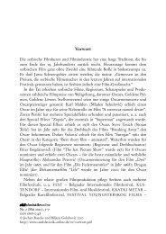 Jochen Raecke & Biljana Golubovic: Vorwort zu Heft 2