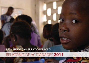 Relatório de Actividades 2011 - FEC