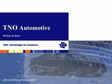 TNO Automotive