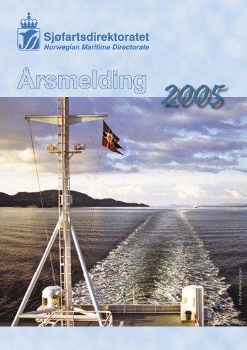 Årsmelding for 2005 - Sjøfartsdirektoratet
