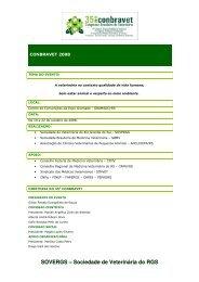 SOVERGS – Sociedade de Veterinária do RGS