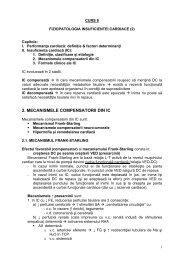 Fiziopatologia insuficientei cardiace - OvidiusMD
