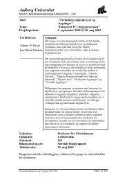 It.civil.aau.dk - Aalborg Universitet