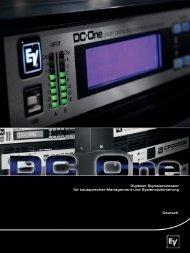 Digitaler Signalprozessor für Lautsprecher-Management und ...