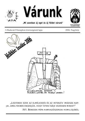 Nagyböjt (PDF - 425 KB) - Mátyás-templom