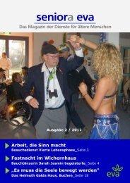 seniora eva Das Magazin der Dienste für ältere Menschen Ausgabe ...