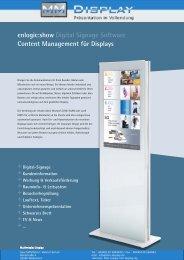enlogic:show Digital Signage Software Content Management für ...