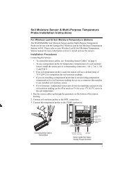 Soil Moisture Sensor & Multi-Purpose Temperature Probe ...