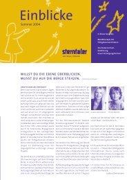 Sommer 2004 - Sterntaler e.V.