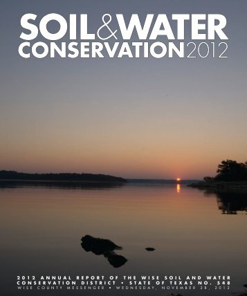 2012 Soil & Water Conservation.indd - Wise County Messenger