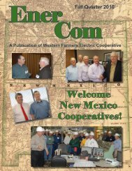 Fall Quarter - 2010 - Western Farmers Electric Cooperative