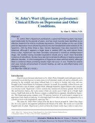 St. John's Wort - Thorne Research
