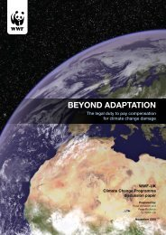Beyond Adaptation - WWF UK