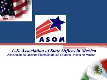 Association of State Offices in Mexico - U.S. Commercial Service