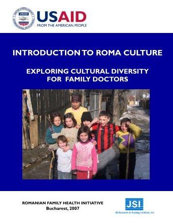 Roma manual FINAL 2-08 - Romanian Family Health Initiative (RFHI)