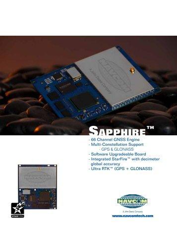 Sapphire™ - NavCom Technology Inc.