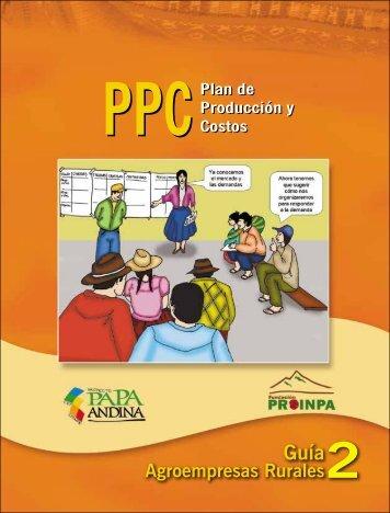 plan de produccion - Fundación PROINPA