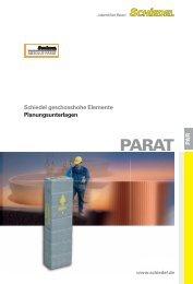 PA R Schiedel geschosshohe Elemente Planungsunterlagen