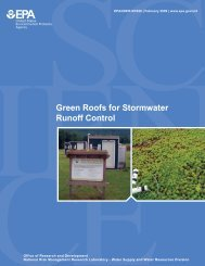 US EPA Green Roofs for Stormwater Runoff Control - DC Greenworks