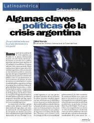 Algunas claves politicas de la crisis argentina - Revista Perspectiva