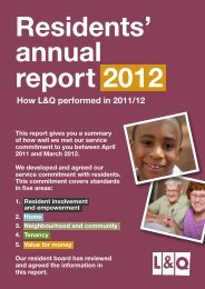 residents' annual report