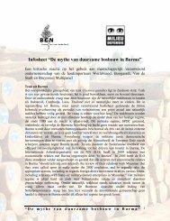 De mythe van duurzame bosbouw in Burma - Duurzaam Ondernemen