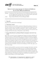 Referat af møde 21 i AM - DEFF