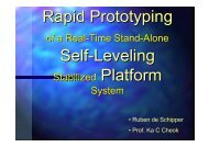Rapid Prototyping Self-Leveling - dSPACE