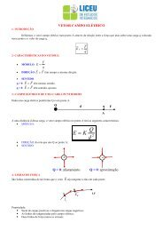 Apostila de Física - Vetor | Campo Elétrico - liceu.net